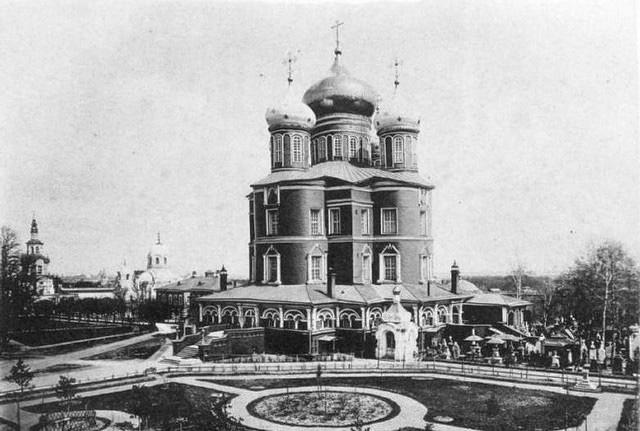 Большой собор Донского монастыря. 1893 год