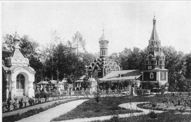Малый собор Донского монастыря. 1893 год