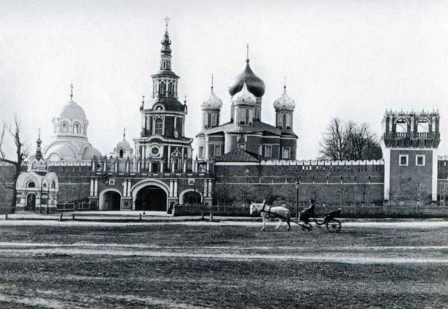 Вид с Севера. 1910 год