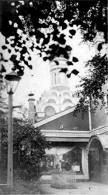 Малый собор Донского монастыря. 1917 год