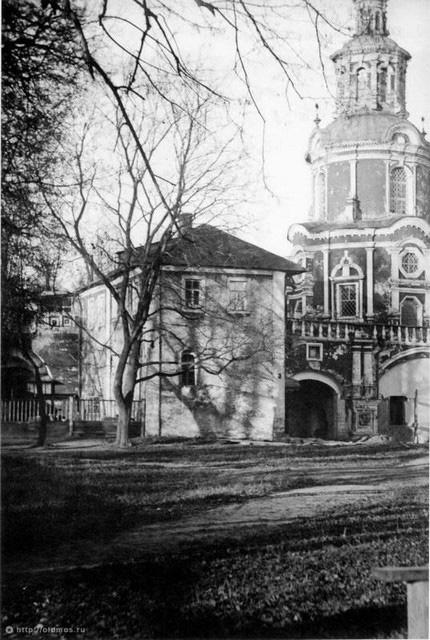 Келья Патриарха Тихона. 1921 год