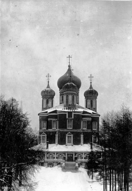 Большой собор Донского монастыря. 1922 год