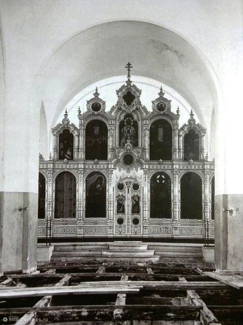 Переделка храма Св. прп. Серафима Саровского. 1927 год