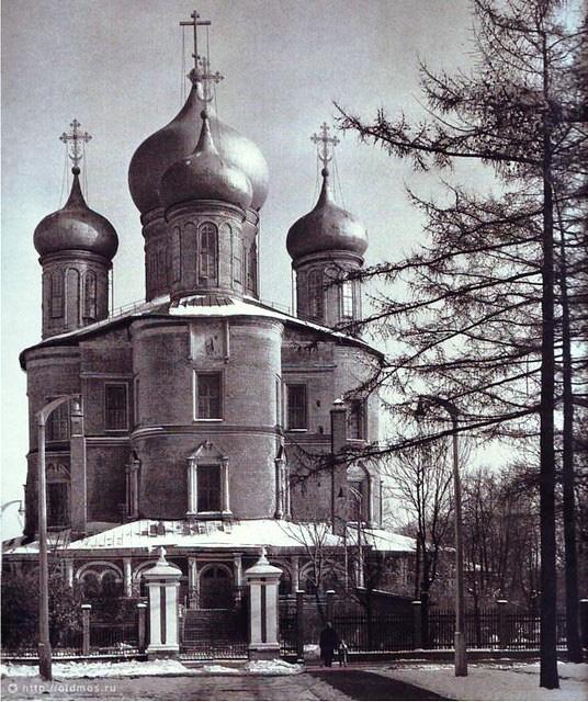 Большой Донской собор. Вид с западной стороны. 1970 год