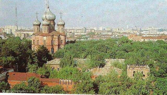 Вид с соседних домов. 1984 год