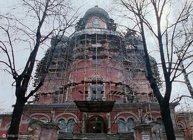 Реставрация Большого собора. 1992 год