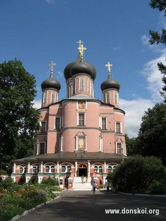 Большой собор Донского монастыря. 2011 год