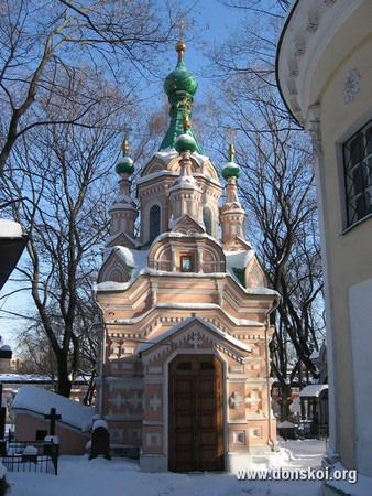 Храм Св. прп. Иоанна Лествичника зимой. 2011 год