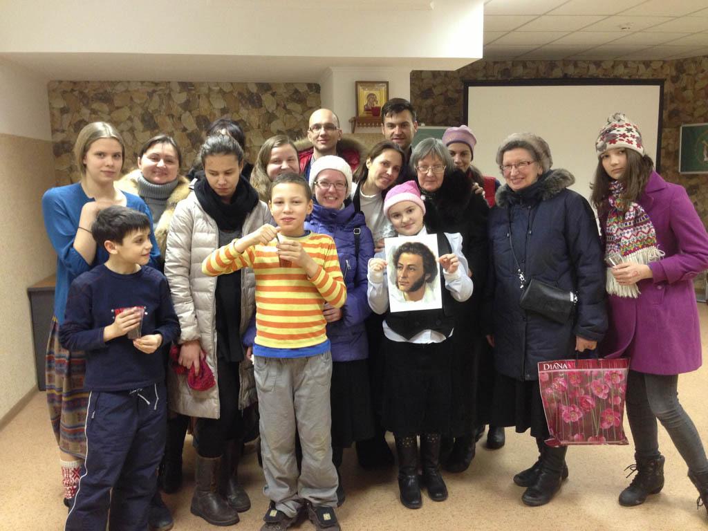 В Донском монастыре прошел Вечер памяти А.С. Пушкина