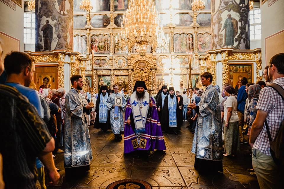 Праздник Успения в Донском монастыре