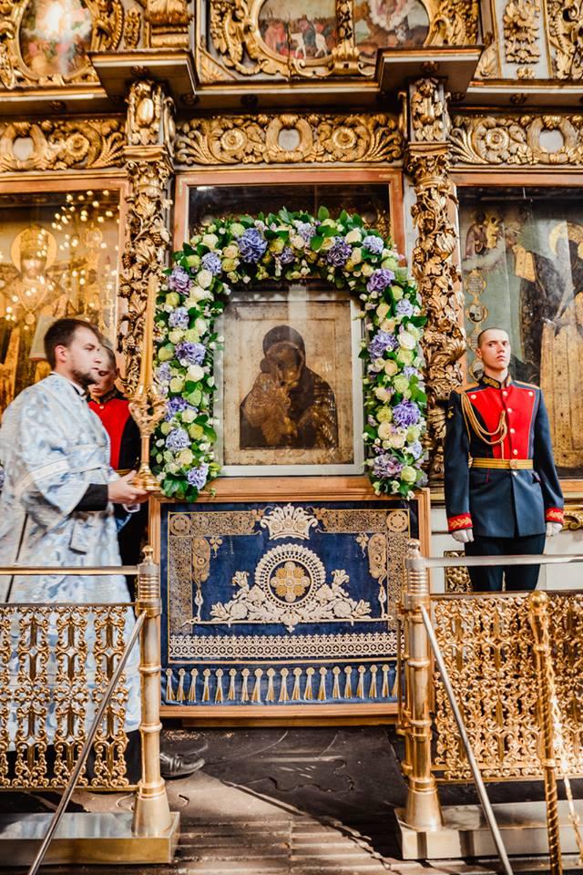 Донская икона Божией Матери в Донском монастыре