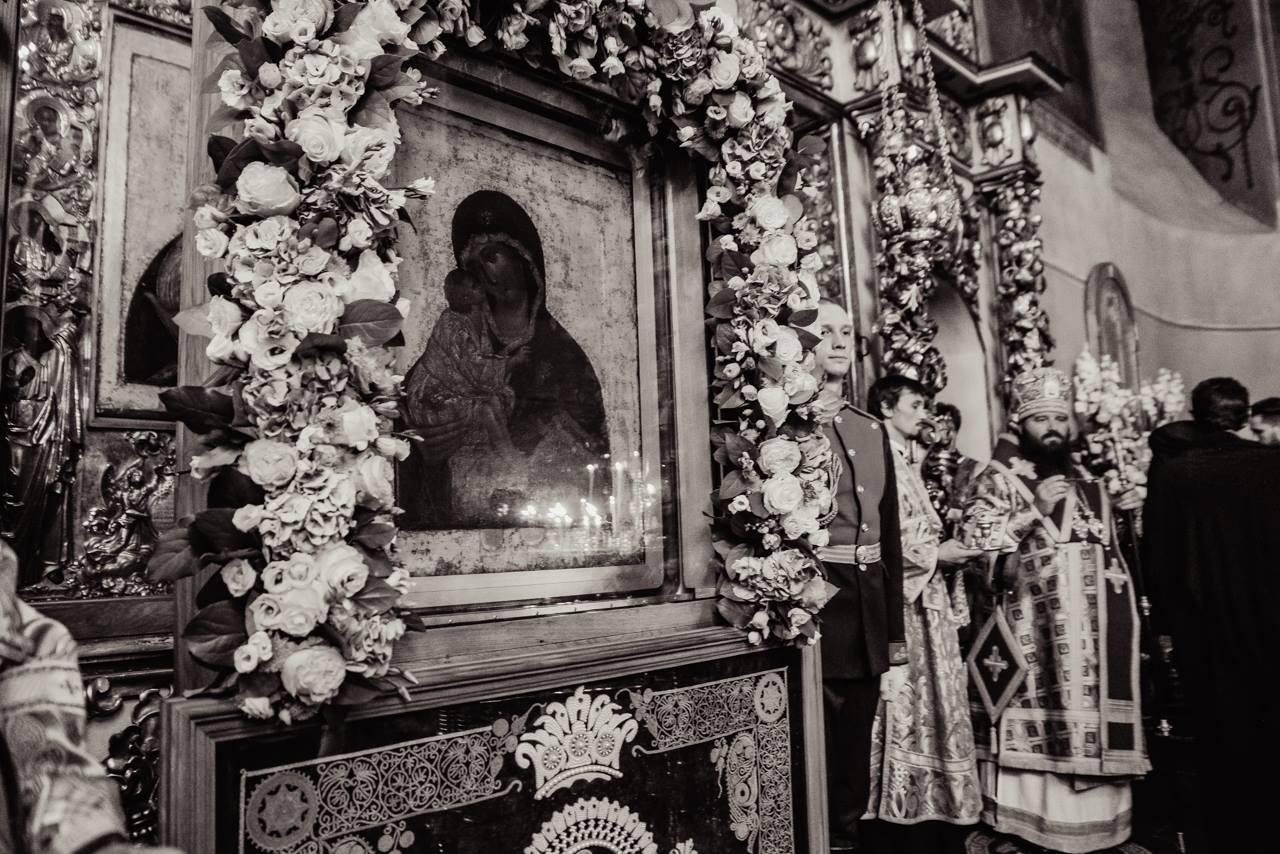 Всенощное бдение в канун престольного праздника в Донском монастыре