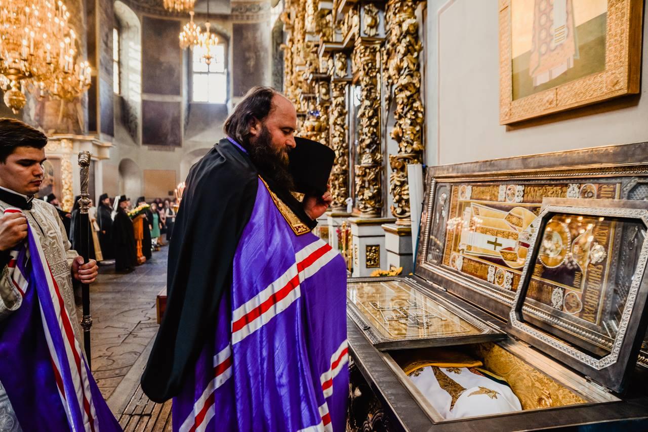 Молебен на начало учебного года в Донском монастыре