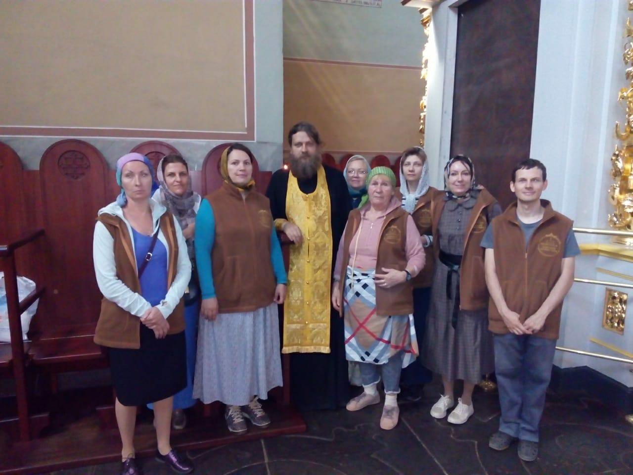 Собрание добровольцев Социального центра святителя Тихона в Донском монастыре