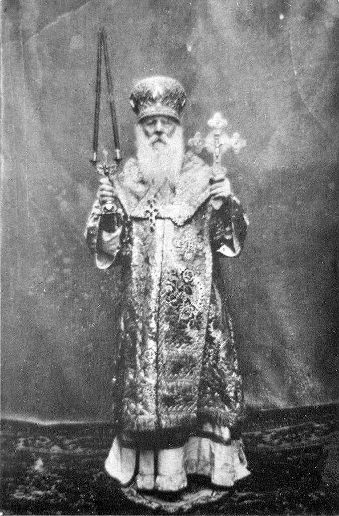 Сщмч. Александр (Петровский), архиепископ Харьковский, наместник Донского монастыря.