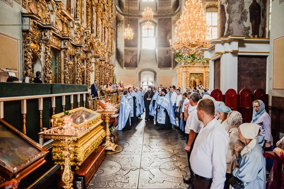 Проводы Донской иконы Божией Матери в Донском монастыре