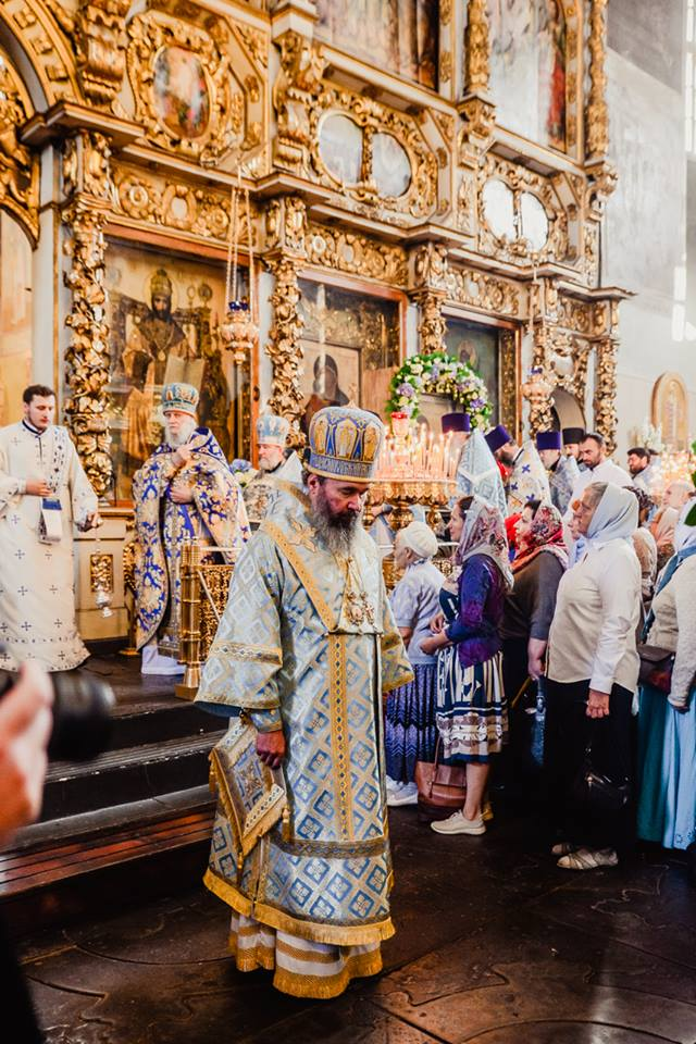 Престольный праздник в Донском монастыре