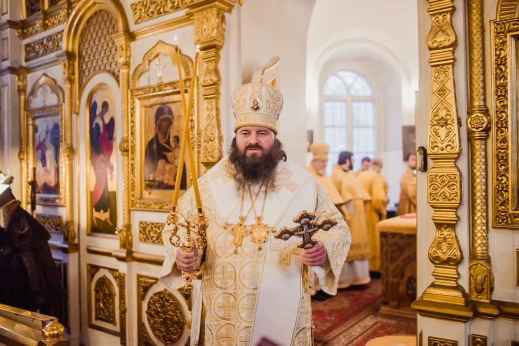 Поздравление наместника Донского монастыря