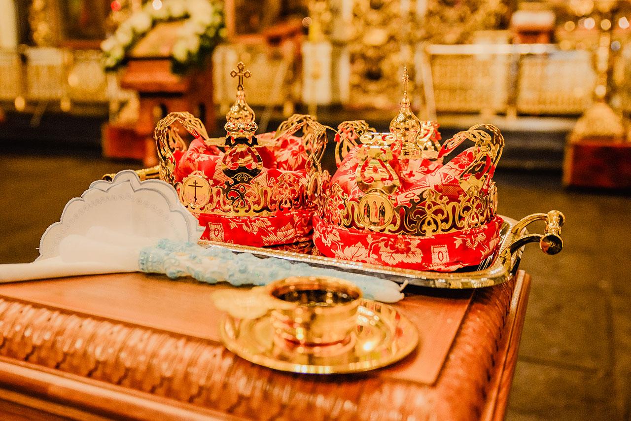 Таинство Венчания в Донском монастыре